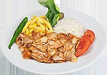 Menü 3 - Porsiyon Tavuk Menü